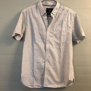 Cactus Menswear Short Sleeve Button Down Shirt